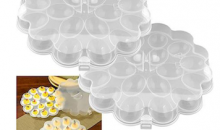 Deal Current TMG-$11 for 2-Pack: Deviled Egg Trays with Snap-On Lids (82-Y3458)