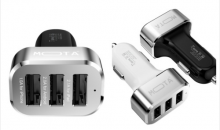 Mota-$14 for MOTA High speed 3 Port USB Car Charger 5.1A Tablet and Phones