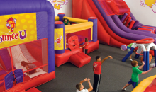 BounceU-Half off Cosmic Bounce at BounceU in Warrendale, PA! Open Bounce Sessions for all ages!