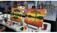 PaintNvineyard-Two Hour Painting Class for 1 or 2