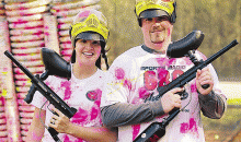 Paintball in Chesapeake & Hampton-$19 for All-Day Outing w/ Equipment, Unlimited Air & 200 Paintballs at Best Paintball Parks in Area