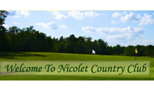 Nicolet Country Club-Nicolet Country Club Get One 18 Hole Round of Golf for $15 - a $30 Value (Cart Rental Required)