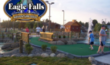 Eagle Falls Adventure Miniature Golf-Eagle Falls Adventure Golf Get 1 Round of Mini Golf for 4 People for $16.50 - a $33 Value!