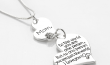 Deal Current RM-$11 for MOTHER HEART ENGRAVED NECKLACE