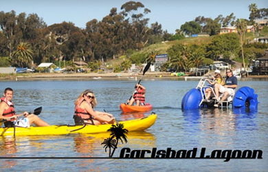 Carlsbad Lagoon-$27 - Carlsbad Lagoon: Kayaking & Watersports this Summer