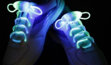 Deal Current-$14 for 2 Pack: Swank LED Shoelaces - 2 Colors (shipping included)