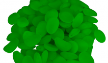 Deal Current TMG-$12 for 100 Glow in the Dark Pebbles for Walkways and Decor (82-3401)