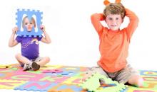 Mota-$22 for Mota Alphabet Floor Play Mat (ABC-MAT)
