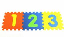 Mota-$15 for MOTA Foam Puzzle Number Mat - 10pcs (NUM-MAT)