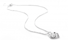 Deal Current RM-$11 for MOTHER AND CHILD SILVER NECKLACE