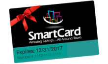 Smart Card-$23 for a One Year Membership to Smart Card (Reg. $39.95)