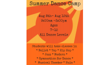 San Diego Danceworks-$150 for a Week of Summer Camp at San Diego Danceworks August 8-12