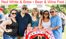 Drink the District-$29 for the Red White & Brew Beer & Wine Fest at the Sportsplex - 21+ - Ticket Includes Tastings