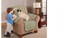 Deal Current-$39 for Reversible Chair Protector - Shipping Included