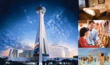 Stratosphere Hotel & Casino / Casablanca Expr-$79 for 2 nights at the Stratosphere Hotel + 2 Free Buffet Tickets + Bite Card
