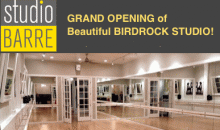 Studio Barre Birdrock-Barre Classes in La Jolla/Bird Rock! Get long lean legs and a fit booty!