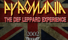 Heyday-$25 For Two Tickets to Pyromania a Tribute to Def Leppard FRIDAY, AUGUST 19th at Mt. Palomar Winery!