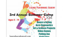 Legends Performance Academy - NEW LOCATION-Performing/Creative Arts Camp at Legends Performance Academy