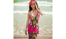 Deal Current Gifts-$14 for Printed Sheer Bikini Wrap Dress - 8 Styles