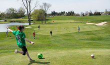 Pheasant Ridge Golf Club-Half off Kid's Birthday Party at Pheasant Ridge Foot Golf!