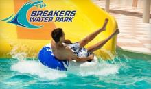 Breakers Water Park-Breakers Water Park Vale Por Un Dia con soda y un Souvenir Cup para Un, Dos o Cuatro personas