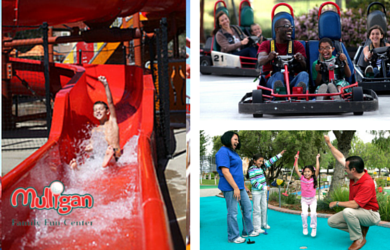 Mulligan Family Fun Center-$14.99 for an All Day Pass to Mulligan Family Fun Center (Including Water Slides)