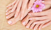 Balanced Health & Beauty Salon-$17 for Deluxe Gel Manicure or Deluxe Pedicure at Balanced Health & Beauty Studio ($38 Value)