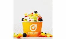 Orange Leaf-Get $10 of Frozen Goodness for Only $5 at Orange Leaf Frozen Yogurt