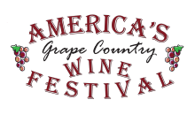 America's Grape Country Wine Festival-Half Off A One Or Two Day Wine Tasting Admission Ticket To America's Grape Country Wine Festival in Chautauqua