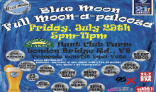 Princess Anne Hunt Club Foundation-$20 for a VIP Package to Blue Moon Full Moon-A-Palooza Event on Friday, July 29 ($35 Value)