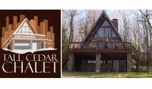 Tall Cedar Chalet-DEEP DISCOUNT off a 2 Night Weekend Getaway at a Beautiful Chalet-minutes from Seven Springs! September Dates!