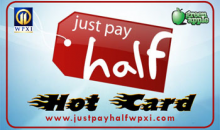 WPXI'S HOT CARD-$50 HOT CARD deal! Use at dozens of local businesses!  SPECIAL PRICE!