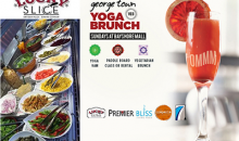 Cayman Creperie & Lucky Slice Pizza-Vegetarian Brunch With Unlimited Bubbles - Just $25!
