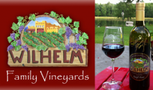 Wilhelm Family Vineyards-Wine Tasting Package at the Wilhelm Family Vineyards