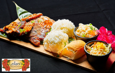 Sweet Leilani's BBQ and Ono Grinds-$10 for $20 Worth of Food & Drinks at Sweet Leilani's BBQ & Ono Grinds!