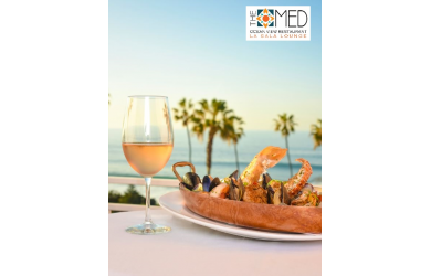 THE MED Ocean View Restaurant -Get $100 for $50 at THE MED Ocean View Restaurant