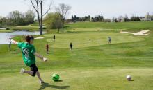 Pheasant Ridge Golf Club-Half off Kid's Birthday Party at Pheasant Ridge Foot Golf!