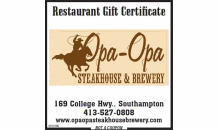 Opa Opa-Save 30% at Opa Opa Steakhouse & Brewery