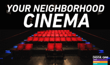 Digital Gym CINEMA North Park-2 Movie Tickets with Popcorn & 2 Drinks