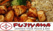 Fujiyama Japanese Steak House & Bar-$40 of Food and Beverages at Fujiyama Japanese Steak House for Only $20! LIMITED QUANTITY
