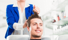 Kelley Rex-Men's Haircut w/ Nose & Ear Waxing, a $30 Value for Only $15!