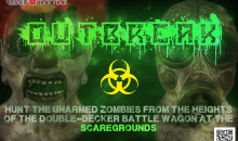 Red Dot Paintball-2 Tickets to Outbreak at the Scaregrounds a $40 Value for Only $20!