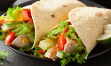 Jim's Wraps & Salads-Get $20 towards Jim's Wraps & Salads for $10! Print out 5 $4 certs!