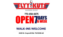 Flyy-Kuts Barber Shop-Father and Son Haircuts or Men's Haircut with Beard Trim