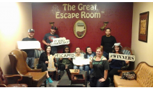 The Great Escape Room-Pay $14 for admission to the Great Escape Room ($28 value)! Perfect for Halloween Outing!  BOO!
