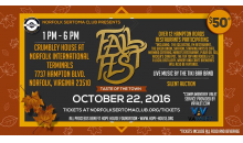 MORE TICKETING OPTIONS -DISCOUNT CODE INSIDE - Norfolk Sertoma's Fall Fest w/ AYCE Food, Beer, Wine & Liquor + Band