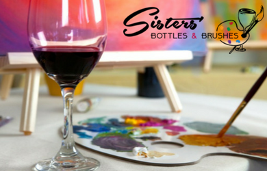 Sisters' Bottle and Brushes-Admission to BYOB Painting Party for One!