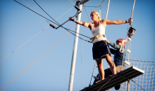 Trapeze High-$95 for an Introductory Trapeze Lesson for Two ($190 Value)