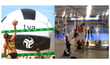 Tidewater Volleyball Association-Winter Break Volleyball Camp - Girls and Boys ages 7 to 18 - Less than $30 per day