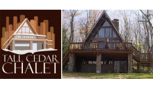 Tall Cedar Chalet-$399.99 Long Weekend Getaway at a Beautiful Chalet-minutes from Seven Springs! Can book Dec 15-18!